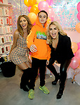Georgie CLarke,Tallia Storm and Johnnie Hartmann at  the Skinnydip London x Tangle Teezer  party, Neal St, Covent Garden London
