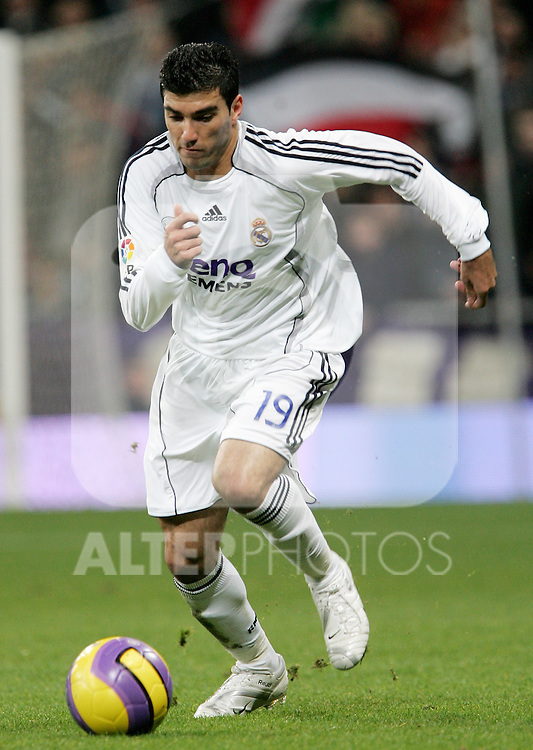 Real Madrid's Jose Antonio Reyes during Spain La Liga match between Real Madrid and Athletic de Bilbao at Santiago Bernabeu stadium in Madrid, Sunday December 03, 2006. (ALTERPHOTOS/Alvaro Hernandez).