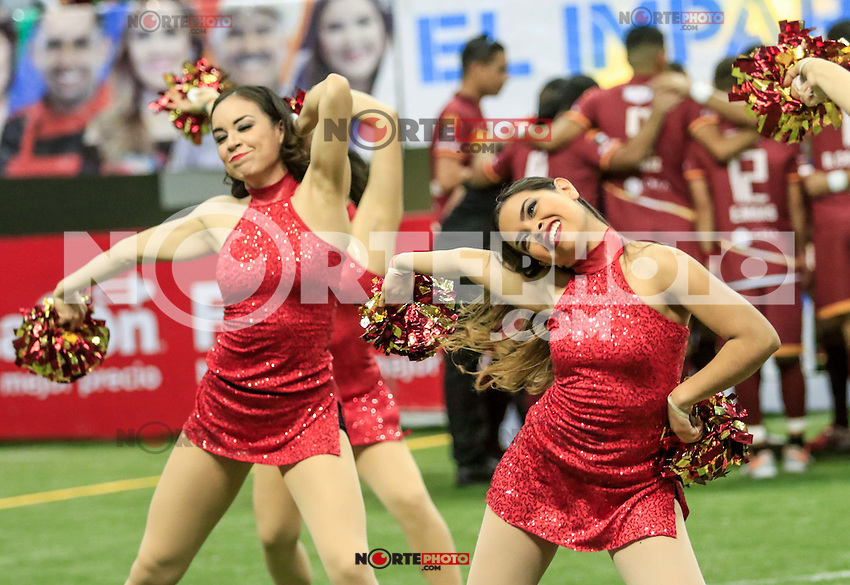 Soles De Sonora vs SideKiks MASL 2016-2017<br /> Photo: Luis Gutierrez / NortePhoto Sun City Dancers MASL 2016-2017. Porristas y animadoras<br />