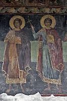 BG61213.JPG BULGARIA, BLACK SEA COAST, NESSEBAR, CHURCH OF ST STEPHAN, 10TH CENTURY, FRESCOS