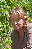 Catherine Papon Nouvel, owner of Ch Gaillard, Petit Gravet Aine and Clos Saint Julien, Saint Emilion, Bordeaux, France