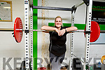 Rachel O'Connor who is a Powerlifter working out in the Dynamic Gym, Tralee as she prepares for the World Championships in Canada