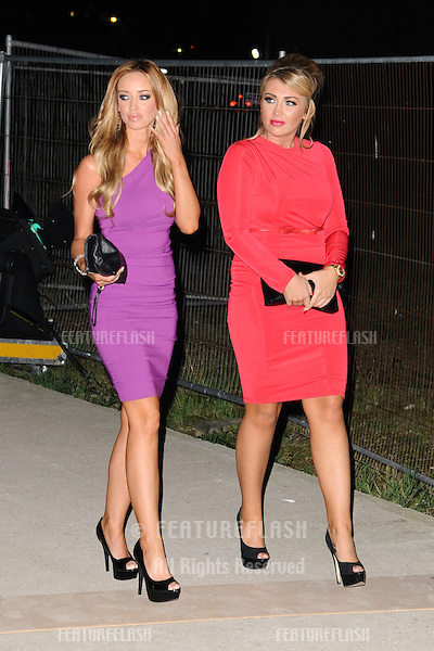 Lauren Pope and Lauren Goodger arriving for the Spectacle Wearer of the Year 2011 Awards, London. 16/11/2011  Picture by: Steve Vas / Featureflash