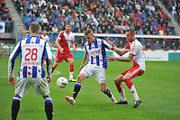 VOETBAL: HEERENVEEN: ABE LENSTRA STADION: 19-10-2013, SC Heerenveen - FC Utrecht, uitslag 4-1, Alfreð Finnbogason (#11), ©foto Martin de Jong