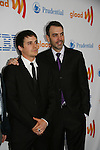 One Life To Live's Brett Claywell and Ron Carlivati (head writer) at the 21st Annual GLAAD Media Awards on March 13, 2010 at the New York Marriott Marquis, New York City, NY. (Photo by Sue Coflin/Max Photos)