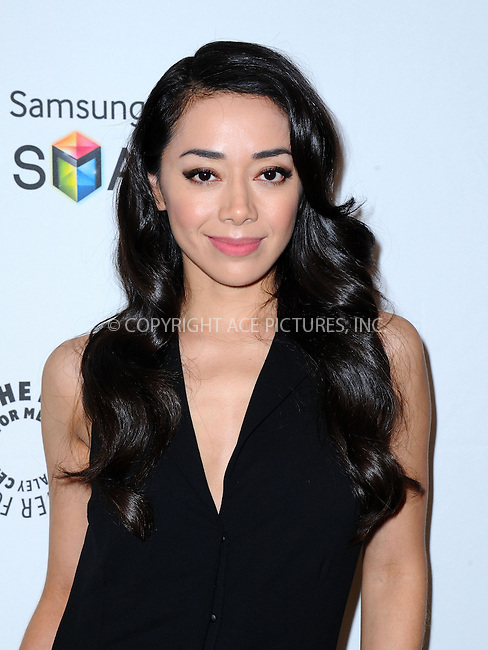 WWW.ACEPIXS.COM<br /> <br /> September 12 2013, LA<br /> <br /> Amiee Garcia at PaleyFest Previews: 'Dexter' at The Paley Center for Media on September 12, 2013 in Beverly Hills, California.<br /> <br /> By Line: Peter West/ACE Pictures<br /> <br /> <br /> ACE Pictures, Inc.<br /> tel: 646 769 0430<br /> Email: info@acepixs.com<br /> www.acepixs.com