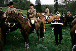 'QUANTOCK STAG HOUNDS', QUANTOCK, SOUTH SOMERSET. THE 'LAWN MEET' AT BAGBOROUGH HOUSE THE LAST MEET OF THE 1997 SEASON, 1997