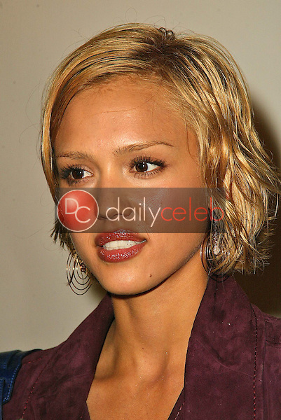 Jessica Alba<br /> at the 2005 Annual Lint Roller Party by Best Friends Animal Society, Hollywood Roosevelt Hotel, Hollywood, CA 05-06-05<br /> David Edwards/DailyCeleb.Com 818-249-4998