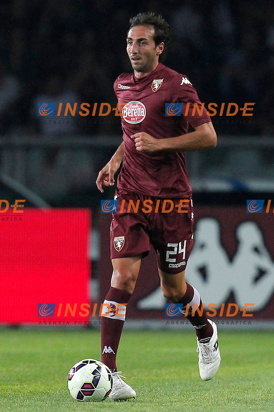 Emiliano Moretti Torino, Torino 7-8-2014, Stadio Olimpico, Football Calcio 2014/2015 Europa League, Torino - Brommapojkarna, Foto Marco Bertorello/Insidefoto
