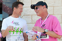 "James Denton, one of the leading stars of ""Desparate Housewives"" was honorary chair of the fourth annual Susan G. Komen Southwest Florida Race for the Cure fundraiser at Coconut Point in Estero. ""I lost my mother to breast cancer six years ago,"" said Denton ""These people are my family now."" Photo by Debi Pittman Wilkey"