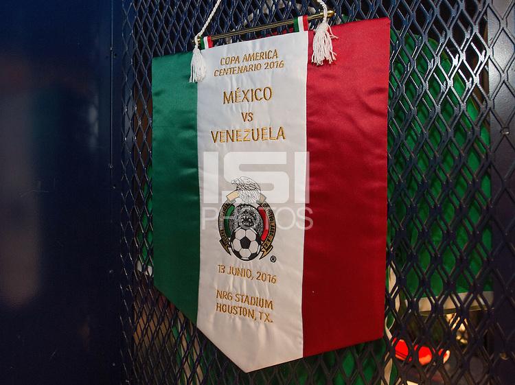 Photo before the match Mexico vs Venezuela, Corresponding to Group -C- America Cup Centenary 2016 at NRG Stadium.<br /> <br /> Foto previo al partido Mexico vs Venezuela,  Correspondiente al Grupo -C- de la Copa America Centenario 2016 en el Estadio NRG, en la foto: Vestidores de Mexico<br /> <br /> <br /> 13/06/2016/MEXSPORT/David Leah.