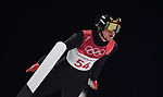 Danial Andre Tande (NOR). Mens normal hill individual. Qualification. Ski jumping. Alpensia ski jump centre. Pyeongchang2018 winter Olympics. Alpensia. Pyeongchang. Republic of Korea. 08/02/2018. ~ MANDATORY CREDIT Garry Bowden/SIPPA - NO UNAUTHORISED USE - +44 7837 394578