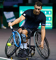 Rotterdam, The Netherlands, 9 Februari 2020, ABNAMRO World Tennis Tournament, Ahoy, Wheelchair: Alfie Hewett (GBR).<br /> Photo: www.tennisimages.com
