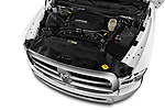 Car stock 2017 Ram Ram 2500 Pickup Tradesman 4wd Crew Cab LWB 4 Door Pick Up engine high angle detail view