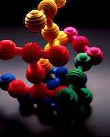 Toy molecule.