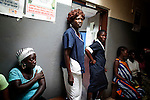 Sara, a midwife, at the Clinic in Duport road, a former MSF (Spain) clinic for female victims of sexual abuse and violence.In a country with just 5 obstetricians ( 2 ex-pat, 3 liberian ) these midwives delivery almost the 80% of newborns in Liberia, 2 July, 2010