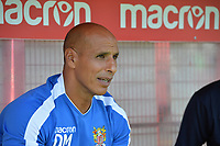 Stevenage manager Dino Maamria during Stevenage vs Tranmere Rovers, Sky Bet EFL League 2 Football at the Lamex Stadium on 4th August 2018