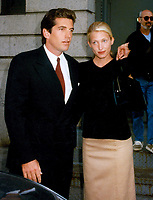 John Kennedy Jr &amp; Carolyn Bessette (wife) 1996<br /> Photo By John Barrett-PHOTOlink.net / MediaPunch