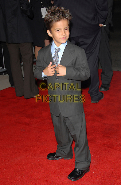 ARAMIS KNIGHT.Newline Cinema's L.A. Premiere of Rendition held at The Academy of Motion Picture Arts & Sciences in Beverly Hills, California, USA..October 10th, 2007.full length grey gray suit.CAP/DVS.©Debbie VanStory/Capital Pictures