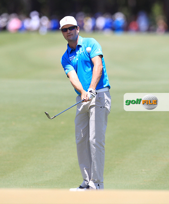Zach Johnson (USA)  during the Third Round of The Players, TPC Sawgrass, Ponte Vedra Beach, Jacksonville.   Florida, USA. 14/05/2016.<br /> Picture: Golffile | Mark Davison<br /> <br /> <br /> All photo usage must carry mandatory copyright credit (&copy; Golffile | Mark Davison)