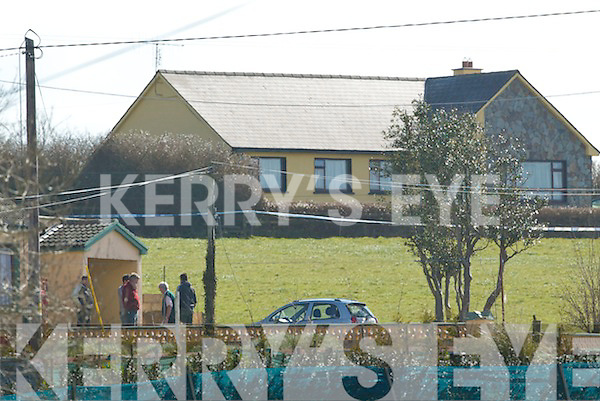 Michael Hanrahan (60) and his son Denis.(27) were viciously gunned down in the early hours of last Thursday morning in their home at Gortdrumasallihy, just outside Moyvane, within earshot of sleeping relatives, in a quiet cul-de-sac known as The Hill. At Listowel District Court on Monday, Thomas.Barrett (30), Clandries, Causeway, (above) was charged with their murders.