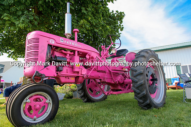 Pink Tractor Foundation held its fifth annual fundraiser in support of fighting cancer in St. Marys at the Brommel family farm Saturday, June 11.