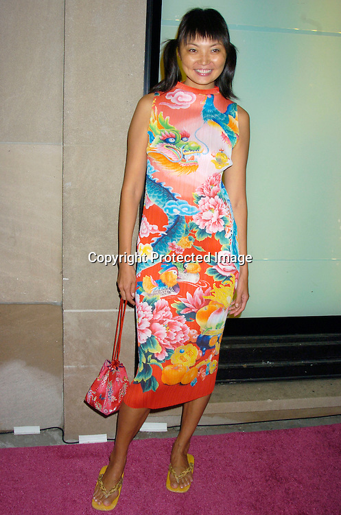 Irina Panteava ..at the opening of the new Pucci Store on Fifth Avenue ..on September 7, 2004 in New York City. Photo By Robin Platzer, Twin Images