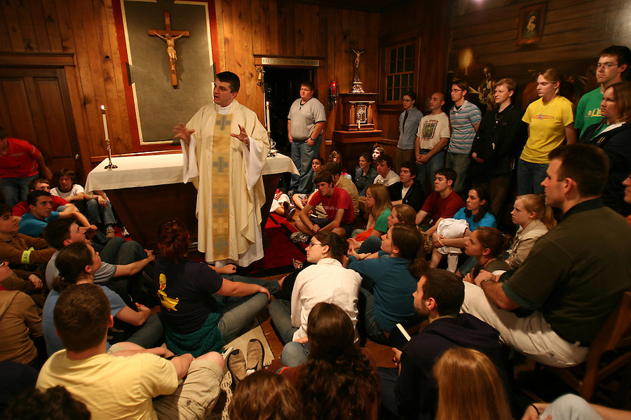 Mass in the Log Chapel