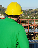 Stock Photos Project Manager at Construction site