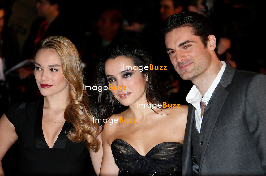 January 26,, 2013-  Joy Ester, Isabelle Vitari, Gil Alma attend the NRJ Music Awards at Palais des Festivals in Cannes, France.