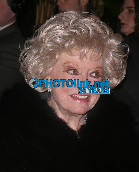 Phyllis Diller, 2003, Photo By John Barrett/PHOTOlink