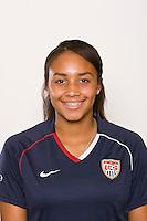 Samantha Johnson. U-17 USA Women's National Team head shots on September 16, 2008. Photo by Howard C. Smith/isiphotos.com