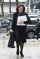 JAN 16 Donna Rotunno Seen At Manhattan Supreme Court for Jury Selection
