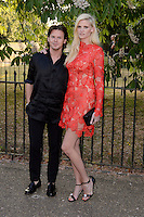 Lara Stone &amp; Christopher Kane at The Serpentine Gallery Summer Party 2015 at The Serpentine Gallery, London.<br /> July 2, 2015  London, UK<br /> Picture: Dave Norton / Featureflash