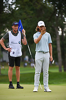 Tommy Fleetwood (ENG) looks over his putt on 3 during Rd3 of the 2019 BMW Championship, Medinah Golf Club, Chicago, Illinois, USA. 8/17/2019.<br /> Picture Ken Murray / Golffile.ie<br /> <br /> All photo usage must carry mandatory copyright credit (© Golffile   Ken Murray)
