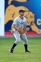 August 12, 2009:  Left Fielder J.P. Ramirez of the Vermont Lake Monsters during a game at Dwyer Stadium in Batavia, NY.  The Lake Monsters are the Short-Season Class-A affiliate of the Washington Nationals.  Photo By Mike Janes/Four Seam Images