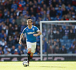 Rangers captain Lee McCulloch runs with the ball as his every touch is booed by his own support