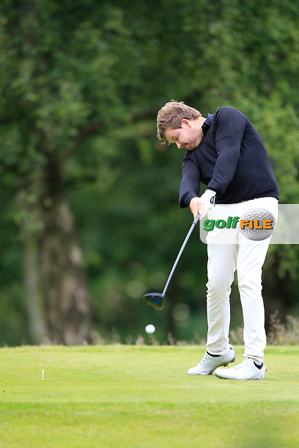 Paul O'Hara (North Lanarkshire Leisure Ltd) on the 18th tee during the final round of the Titleist &amp; Footjoy PGA Professional Championship at Luttrellstown Castle Golf &amp; Country Club on Tuesday 13th June 2017.<br /> Photo: Golffile / Fran Caffrey.<br /> <br /> All photo usage must carry mandatory copyright credit     (&copy; Golffile | Fran Caffrey)