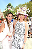 Genie Egerton-Warburton and Diana Rice attends the Central Park Conservancy Hat Luncheon on May 2, 2018 in the Conservatory Garden in New York, New York, USA.<br /> <br /> photo by Robin Platzer/Twin Images<br />  <br /> phone number 212-935-0770