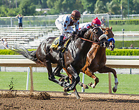 ARCADIA, CA APRIL 22:  #1 Collected ridden by Martin Garcia, and #3 Prospect Park ridden by Flavien Prat,  first time past the grandstand in the Californian Stakes (Grade ll) on April 22, 2017 at Santa Anita Park in Arcadia, CA.(Photo by Casey Phillips/Eclipse Sportswire/Getty Images)ARCADIA, CA APRIL 22:  #1 Collected ridden by Martin Garcia, and #3 Prospect Park ridden by Flavien Prat,  first time past the grandstand in the Californian Stakes (Grade ll) on April 22, 2017 at Santa Anita Park in Arcadia, CA.(Photo by Casey Phillips/Eclipse Sportswire/Getty Images)