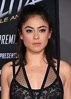 "05 February 2019 - Westwood, California - Rosa Salazar. ""Alita: Battle Angel"" Los Angeles Premiere held at Regency Village Theater. Photo Credit: Birdie Thompson/AdMedia"
