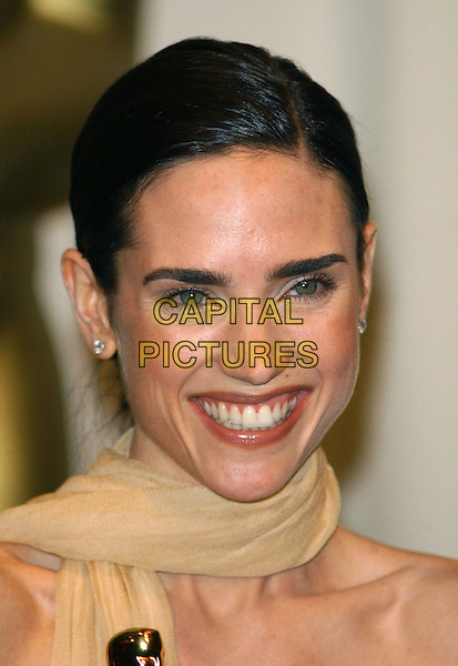 JENNIFER CONNELLY.74th Academy Awards .oscars, scarf, headshot, portrait, smiling.www.capitalpictures.com.sales@capitalpictures.com.© Capital Pictures.