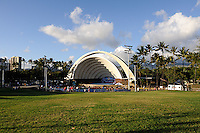 Waikiki Shell ampitheater. Waikiki, Hawaii RIGHTS MANAGED LICENSE AVAILABLE FROM www.PhotoLibrary.com