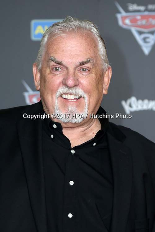 "LOS ANGELES - JUN 10:  John Ratzenberger at the ""Cars 3"" Premiere at the Anaheim Convention Center on June 10, 2017 in Anaheim, CA"