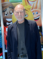 Patrick Stewart at the world premiere for &quot;The Emoji Movie&quot; at the Regency Village Theatre, Westwood. Los Angeles, USA 23 July  2017<br /> Picture: Paul Smith/Featureflash/SilverHub 0208 004 5359 sales@silverhubmedia.com
