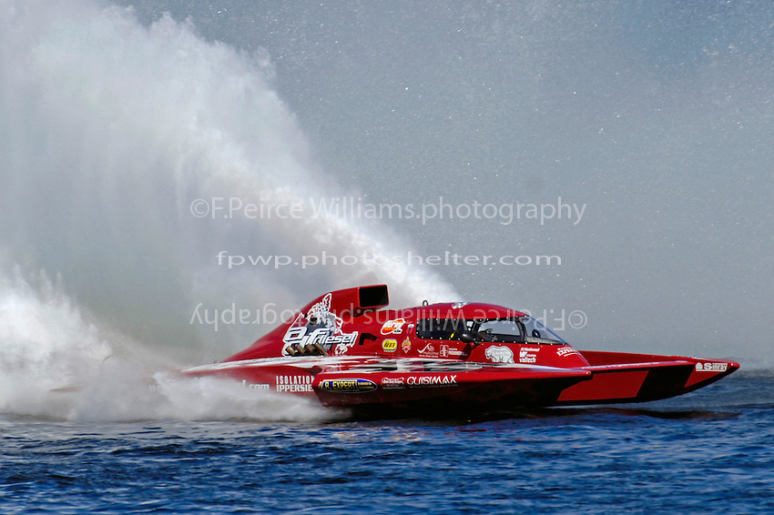 "Pierre Mahaeu, GP-46 ""adf diesel""  (Grand Prix Hydroplane(s)"