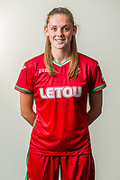 Wedensday 26 July 2017<br />Pictured: Georgia Roberts-Powell<br />Re: Swansea City Ladies Squad 2017- 2018 at the Liberty Stadium, Wales, UK