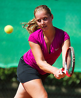 August 9, 2014, Netherlands, Rotterdam, TV Victoria, Tennis, National Junior Championships, NJK,  Inger van Dijkman (NED)<br /> Photo: Tennisimages/Henk Koster