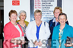 Marie Connor Faha, Marie Donnelly, Breda o'Shea Listry, Sheila Moynihan and Mary Mangan Kilcummin at the Models in Recovery fashion show on a Tuesday night