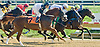 Balttimore Bianca winning at Delaware Park on 10/22/12